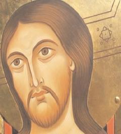 Assisi, Crocifisso di San Damiano (particolare)